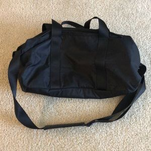 Lululemon small duffel gym bag black